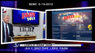 """uncle Sam Jam 2013"" Brings Back Live Music"