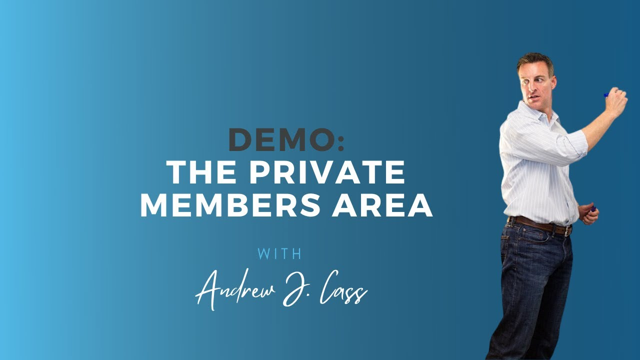 Demo: The Private Members Area