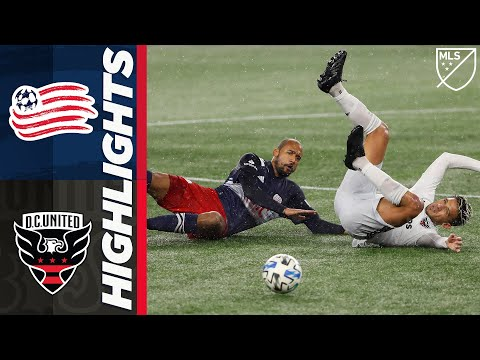 New England DC United Goals And Highlights
