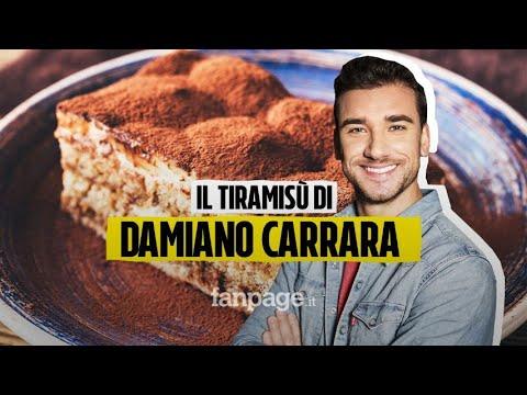 Ricetta Tiramisu Damiano Carrara.La Ricetta Del Tiramisu Con Savoiardi Fatti In Casa Di Damiano Carrara Youtube