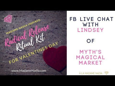 Special Collab for Valentines Day: Radical Release Ritual Kit from Myth's Magickal Market