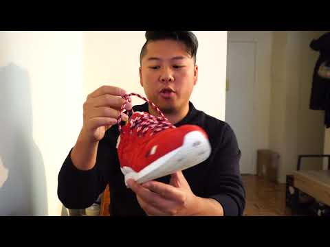 buy popular 418a3 882d9 REVIEW & ON-FEET - Kith x Asics x Moncler Gel Lyte III - YouTube