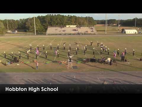 Hobbton High School Marching Band    October 26 2019