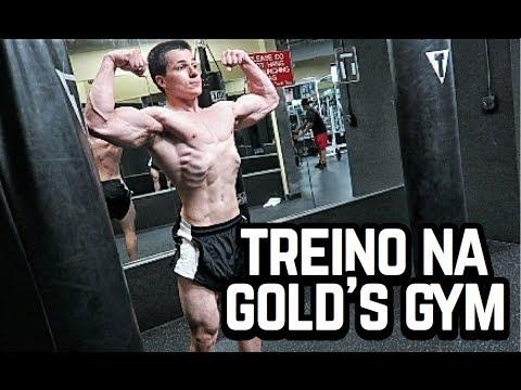 Diário #192 - Treino Insano na Gold's Gym (Academia Gringa dos Sonhos)