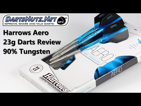 Harrows Aero 23g darts review