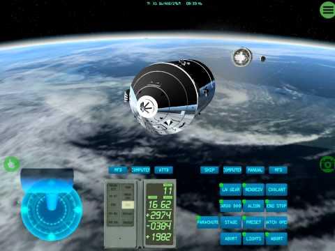 iOS Space Simulator - Apollo & Space Shuttle On iPad