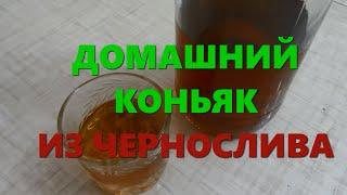 Домашний коньяк из чернослива - рецепт настойки-имитации
