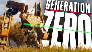 Generation Zero | Closed BETA END | THE TANK!! (Multiplayer)
