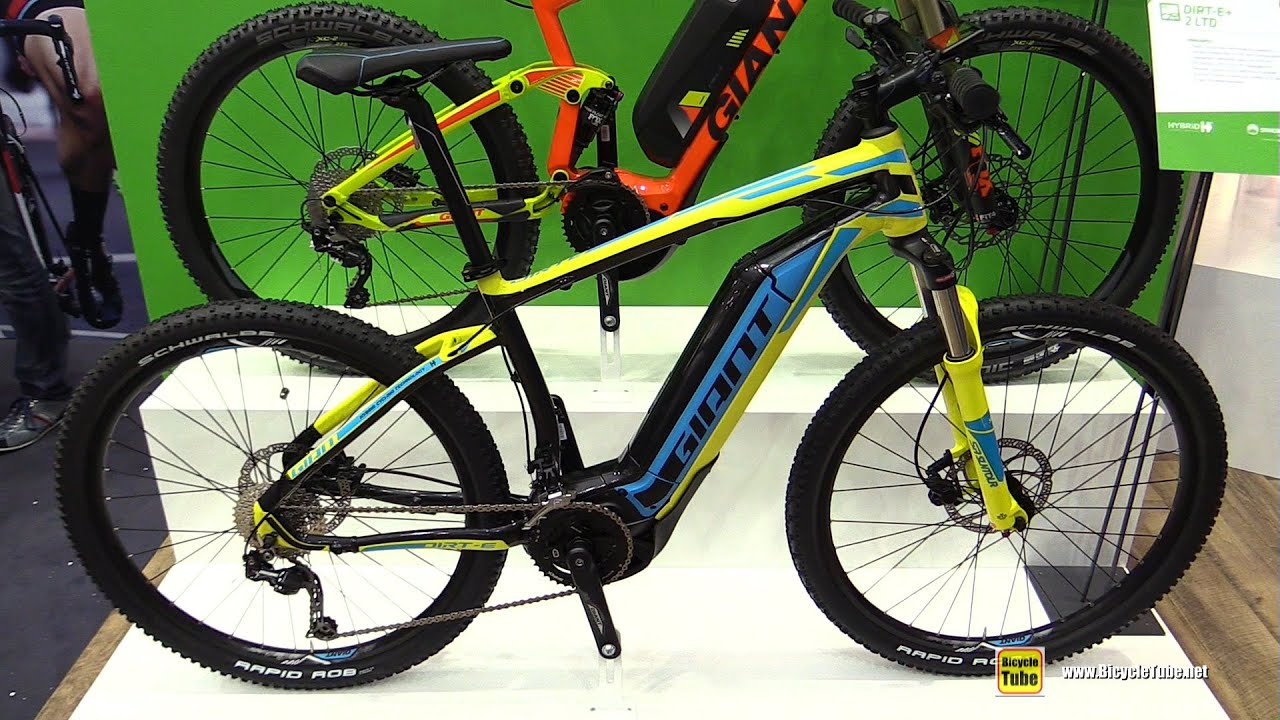2016 Giant Dirt E 2 Ltd Electric Mountain Bike Walkaround