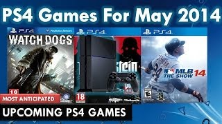 ALL NEW UPCOMING PS4 GAMES! - May 2014