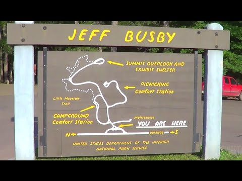 Jeff Busby Natchez Trace milepost 193.1 May 8 2016 Temporary closed
