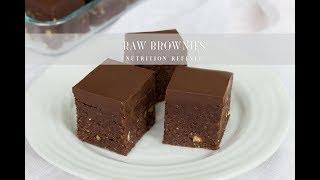 Raw Brownies | Vegan, Paleo