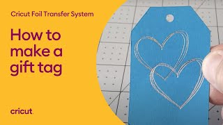 How to Use tнe Cricut Foil Transfer System