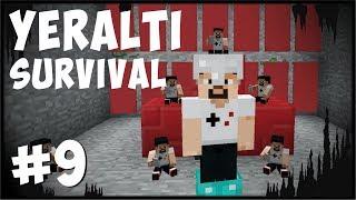 Gİzlİ Oda Ve Creeper Katlİami  - Minecraft, Yeraltı Modlu Survival #9