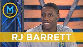 RJ Barrett talks about why the New York Knicks would be such a great fit for him | Your Morning