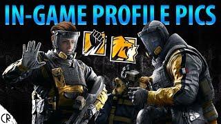 In-Game Profile Photos - Finka & Lion - 6News - Tom Clancy's Rainbow Six