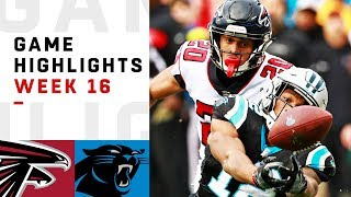 Falcons vs. Panthers Week 16 Highlights