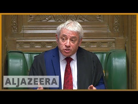 Brexit showdown: Boris Johnson and Jeremy Corbyn clash at 'Super Saturday' parliament session
