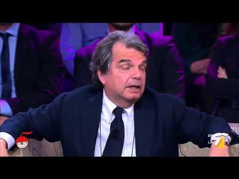 """Brunetta vs Floris: """"Craxi magari pagava anche il suo stipendio a L'Avanti"""""""