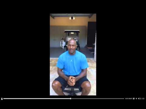 MJ Ice Bucket Challenge