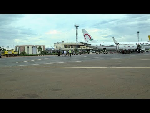 Improving the security of M'Poko airport