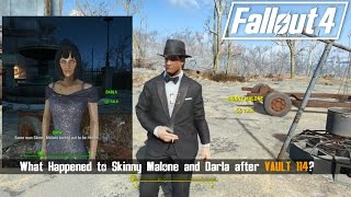 Fallout 4 - Fun Accidental Meetings [ What Happened to Skinny Malone and Darla After Vault 114 ]