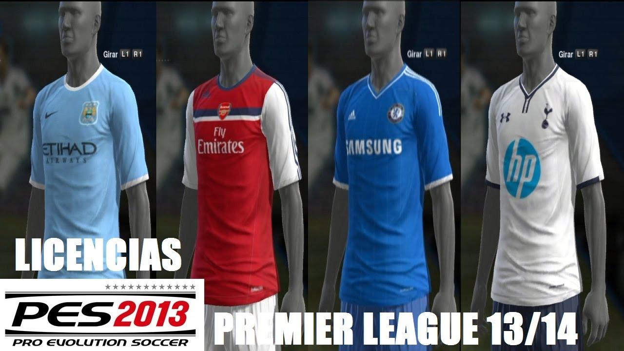 a5c22b6eb4 PES 2013 Licencias (PS3) Premier League 2013 14 (Chelsea
