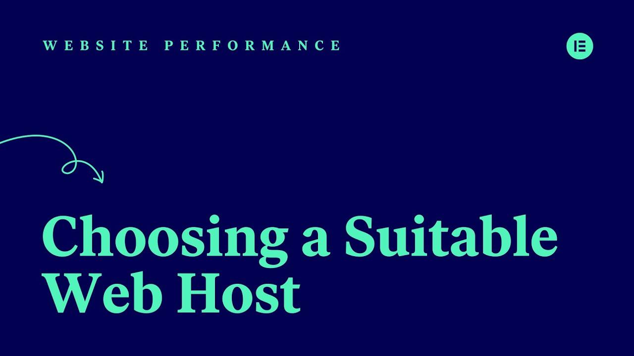 Choosing a Suitable Web Host [04]