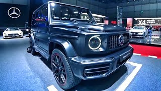 Обзор НОВОГО G 63 AMG! 585 сил, 4.5 до 100! + GT 63 S 639 сил и 3.2 до 100 + A-Class! Mercedes-Benz