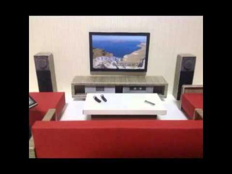 Paper Square Presentation (Paper Made KTV Entertainment Room)