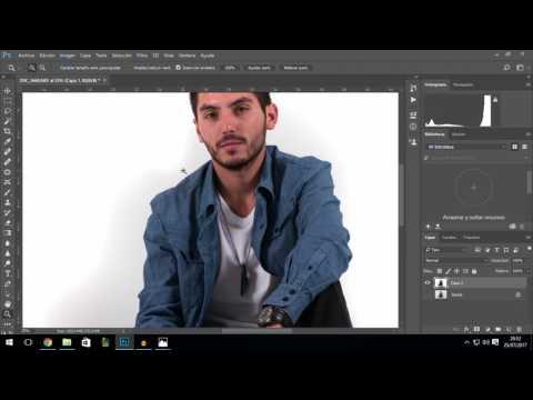 Cómo Emparejar Un Fondo Blanco  A Blanco Puro - Tutorial Photoshop En Español