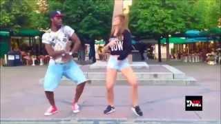Танец в стиле афро. Уличные танцы.