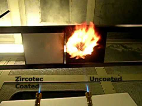 Ceramic Coating of Carbon Composite Heatshield -Zircotec ThermoHold Ceramic  Coating Thermal Barriers