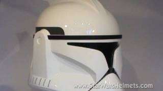 Review of e-FX Collectibles Replica Clone Trooper Helmet from Star Wars AotC
