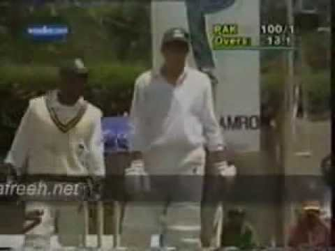 Shahid Afridi Fastest Century 102 runs off 37 balls in ODI against Sri Lanka in 1996 Travel Video
