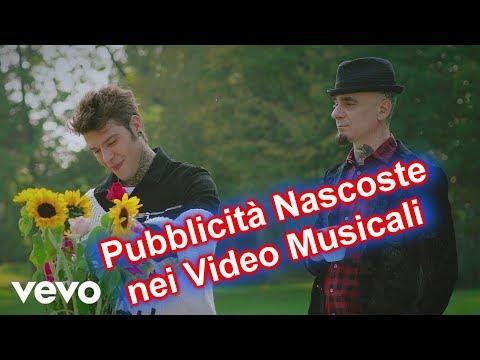 5 pubblicità nascoste nei video musicali Italiani