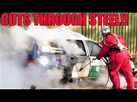Car Vs. 44,000 PSI / 3000 BAR Pressure Washer