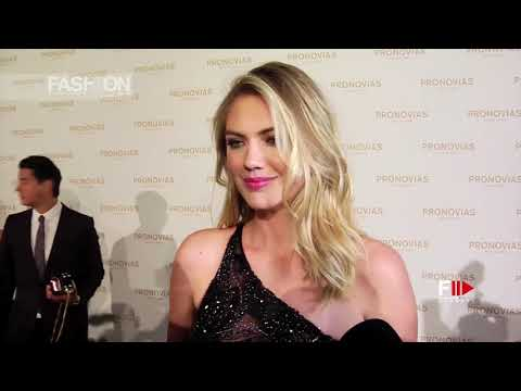 KATE UPTON at PRONOVIAS Barcelona Bridal 2017 – Fashion Channel