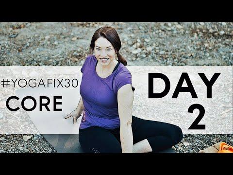 Vinyasa yoga Core Strength for Beginners and Intermediate - Day 2
