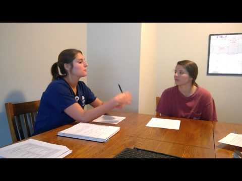 Older Adult - Kayte Walvoort (RN) interviews Kaitlin Agee