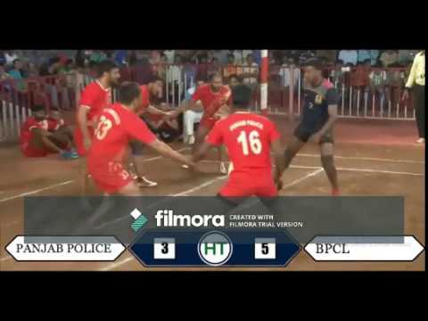 BPCL VS PUNJAB POLICE/ALL INDIA TOURNAMENT/QUARTER FINAL MATCH