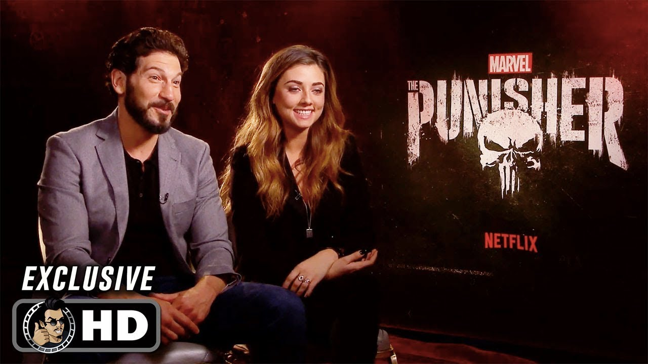 Download Jon Bernthal and Giorgia Whigham Exclusive Interview for The Punisher Season 2