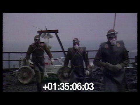 """1986. На крыше ЧАЭС. Роботы """"Федя"""", """"Джокер"""" и табуретки на колесах."""