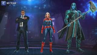 Captain Marvel Update Trailer - Marvel future fight