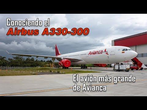 Conociendo el avión más grande de Avianca: Airbus A330-300