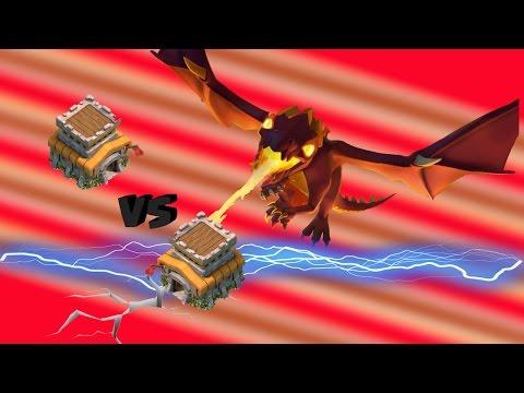 Attaque facile HDV 8 - Full Dragons 3 étoiles GDC TUTO | Clash of Clans