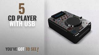 Top 10 Cd Player With Usb [2018]: Dynatech DynaDJ DDJ-850 DJ CD/USB/MP3 Player Table Top with