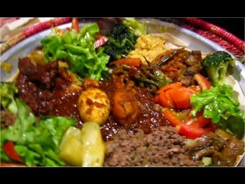 Restaurant Ethiopien Godjo Paris Assortiments De Spécialités - Cuisine ethiopienne