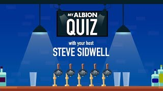 MyAlbion Quiz with Steve Sidwell