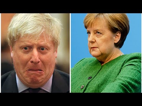 Betrayal? boris johnson labels brexit 'a mess' in secretive meeting with german officials